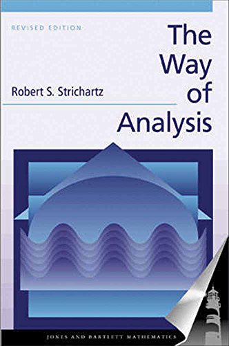 9780763714970: The Way of Analysis, Revised Edition (Jones and Bartlett Books in Mathematics)