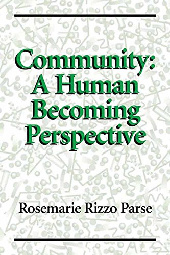 Community: A Human Becoming Perspective [Paperback] [Feb