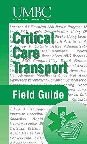 9780763715809: Critical Care Transport Field Guide