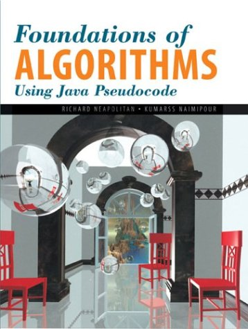 9780763721299: Foundations Of Algorithms Using Java Pseudocode