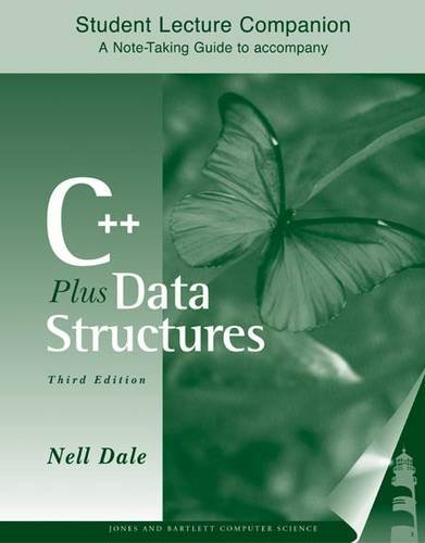 9780763723699: Slc- C++ Plus Data Struct 3e Studnt Lecture Compn
