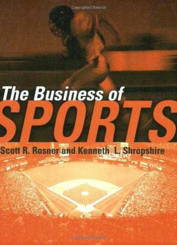 The Business of Sports 9780763726218 The Business of Sports is the first comprehensive collection of readings to focus on the multibillion-dollar sports industry and the dilemmas faced by today's sports business leaders. This valuable resource provides a complete overview of major sports business issues and covers professional, Olympic, and collegiate sports, and highlights the major issues that impact each of these broad categories.