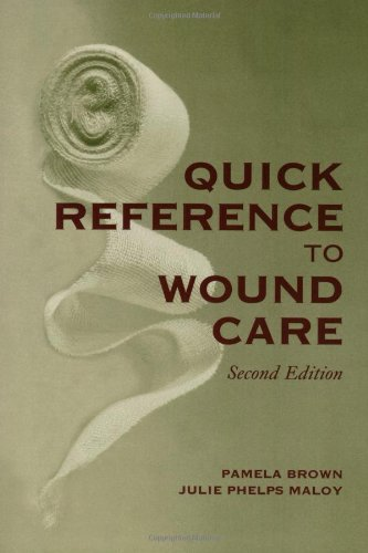 9780763727444: Quick Reference to Wound Care