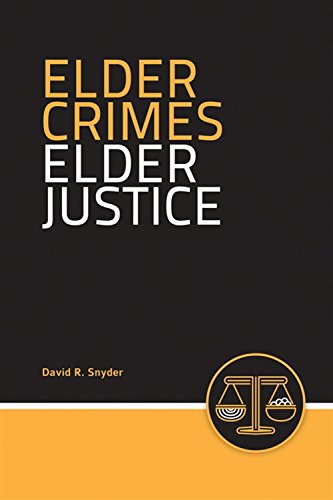 Elder Crimes, Elder Justice 9780763728595 The proportion of the aged in society today is greater than ever before and growing faster than any other segment of the population. Law enforcement officers are increasingly called upon to manage the needs of the older population they serve. Elder Crimes, Elder Justice addresses all of the special needs of older people and gives the law enforcement officer the confidence that is needed to understand the aging process, communicate effectively with older people, understand the fears of older people, develop effective crime prevention strategies, and respond effectively to the older perpetrator. This book offers insights into the special considerations of the growing elderly population and teaches how to handle day-to-day interactions astutely and empathetically, resulting in a positive outcome for the law enforcement official, for the older person, and for the community. Key Features: -Topics include crime and the older adult; the criminal victimization of older adults; communicating with and interviewing the elderly crime victim; crime specific issues facing the older population; and the older adult as perpetrator. -Each chapter contains multiple case studies. These case studies prompt the reader to think about what they might do if they encounter a similar situation in the field. -Includes Communication Tips throughout to remind the reader of communication issues and how to communicate properly with older adults. -Includes Attitude Tips throughout that demonstrate to the reader how to appropriately handle issues involving older adults