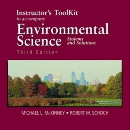 9780763730673: Principles of Environmental Chemistry: Instructor's Toolkit