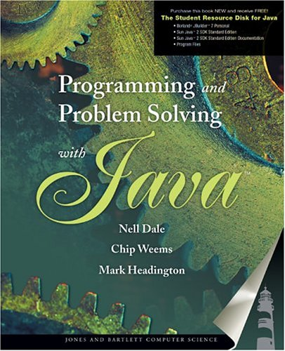 9780763730697: Programming and Problem Solving with Java