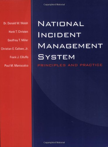 9780763730796: National Incident Management System: Principles And Practice