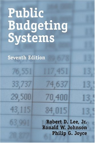 9780763731298: Public Budgeting Systems