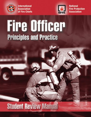 9780763732080: Fire Officer Principles and Practice Student Review Manual
