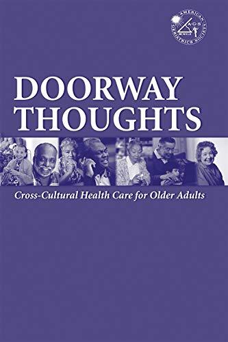 Doorway Thoughts Vol. 1 : Cross-Cultural Health: Reva Adler; Hosam