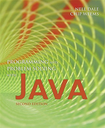 9780763734022: Programming and Problem Solving with Java