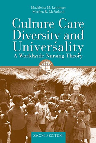 Culture Care Diversity and Universality : A: Madeleine M. Leininger;
