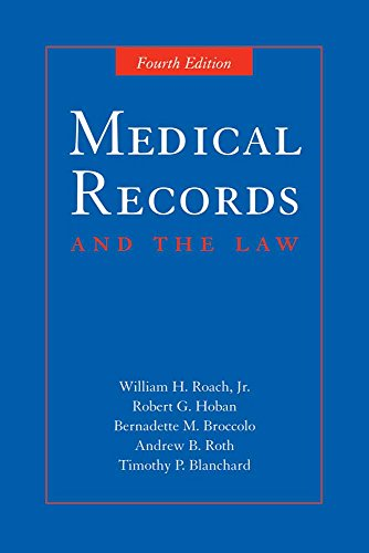 9780763734459: Medical Records and the Law