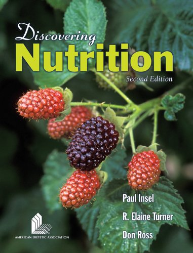 Discovering Nutrition 9780763735555 Discovering Nutrition, Second Edition, endorsed by the ADA, has been thoroughly updated to include the New MyPyramid and 2005 Dietary Guidelines. This student-friendly text provides an introduction to nutrition on a non-majors level. Coverage of material such as digestion, metabolism, chemistry, and life cycle nutrition is clearly written, accessible, an engaging to undergraduate students. Extensive Art Program Clear Diagrams of difficult concepts Helpful Chemistry review (on website) Student Study Guide at no additional cost to your students Co-author Elaine Turner received the USDA National Award for Excellence in College and University Teaching in the Food and Agricultural Sciences in 2004.