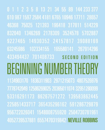 9780763737689: Beginning Number Theory