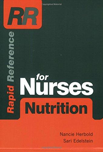 Rapid Reference for Nurses: Nutrition: Nancie Herbold