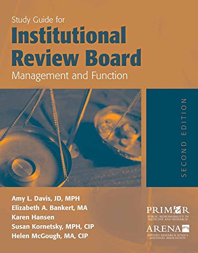 essay on institutional review board Irb is an abbreviation for the institutional review board informed by the need to review human biomedical and behavioral research to the mutual benefit of the.