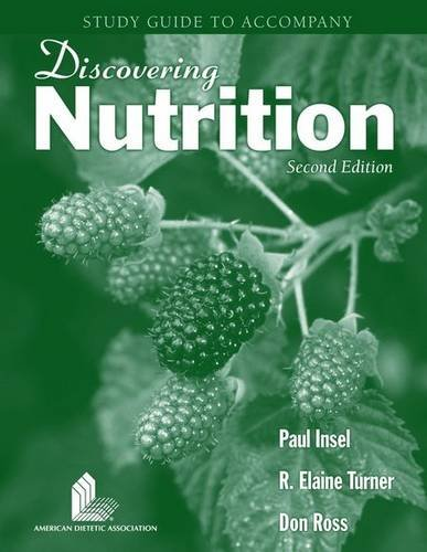 9780763738990: Student Study Guide to Accompany: Discovering Nutrition, 2nd Edition