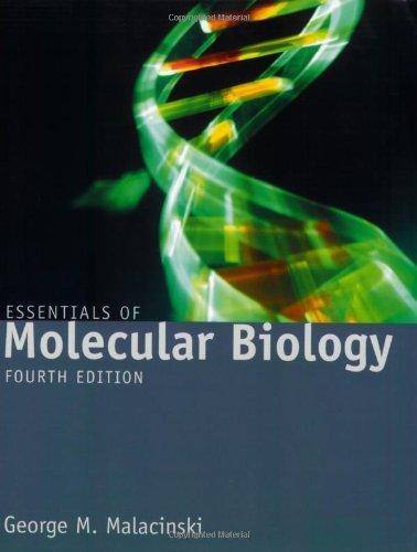 9780763740115: Essentials of Molecular Biology