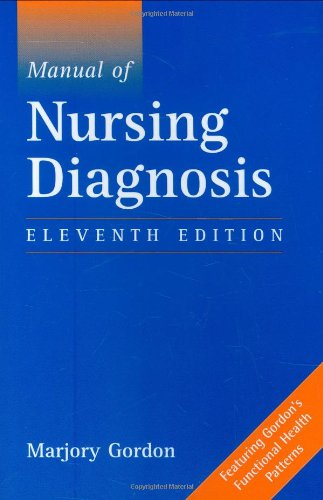 9780763740450: Manual of Nursing Diagnosis: Including all Diagnostic categories approved by the North American Nursing Diagnosis Association