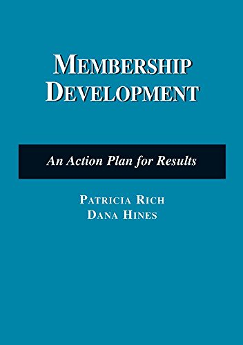 9780763741020: Membership Development: An Action Plan for Results (Nonprofit Management)