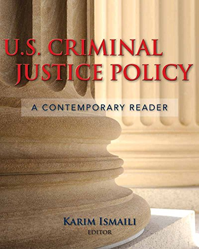 9780763741297: Us Criminal Justice Policy: A Contemporary Reader