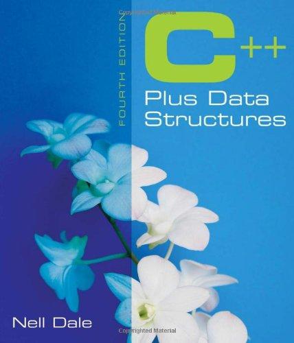 9780763741587: C++ Plus Data Structures