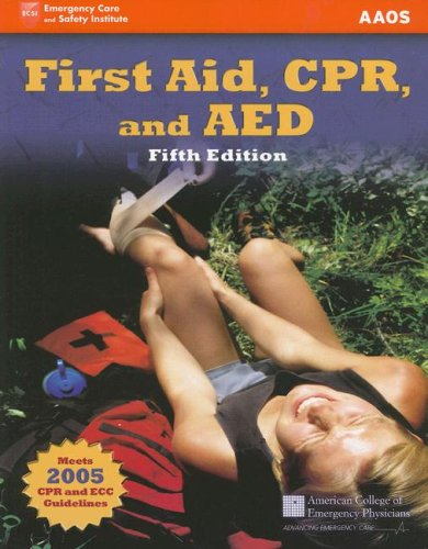 9780763742096: First Aid, CPR, And AED: Academic Version