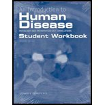 9780763742225: An Introduction to Human Disease, Workbook: Pathology and Pathophysiology Correlations: Student Workbook