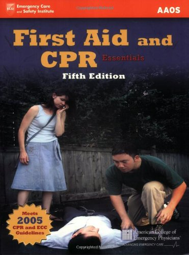 9780763742263: First Aid and CPR Essentials