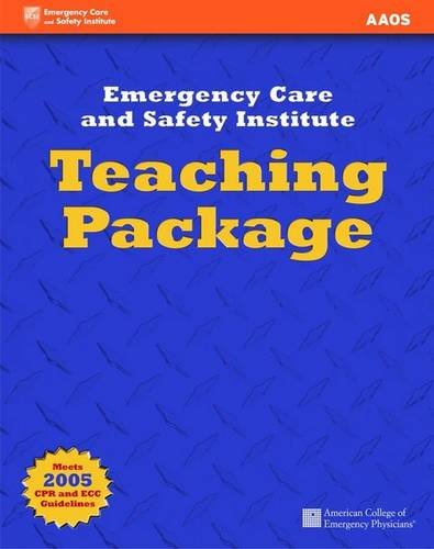 First Aid, CPR and AED: Teaching Pack: American Academy of Orthopaedic Surgeons