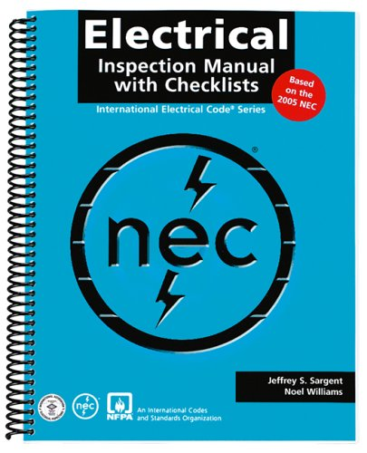 Electrical Inspection Manual with Checklists 2005 (Book & CD): Williams