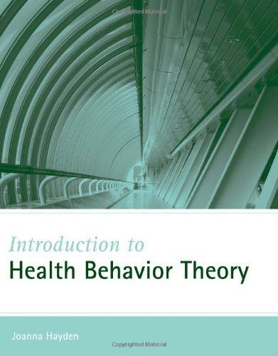 9780763743833: Introduction to Health Behavior Theory