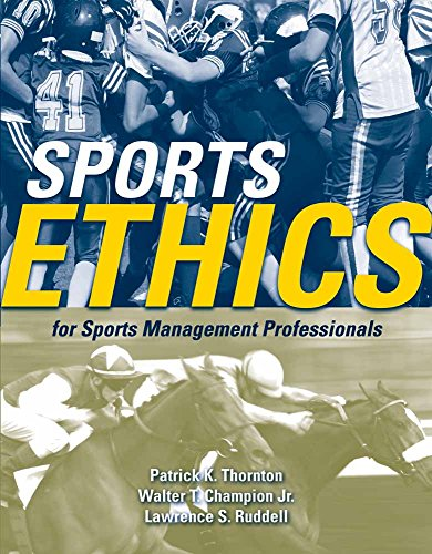 Sports Ethics for Sports Management Professionals 9780763743840 Sports Ethics for Sports Management Professionals provides students with the necessary tools to make ethical decisions in the sports management field. It presents several ethical models that the sports management professional can use as a platform to make ethical decisions. Directed at future sports executives and sports managers, the book contains numerous case studies which allow students to apply the ethical decision-making process to a sports-related ethical dispute.