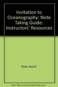 9780763744441: Invitation to Oceanography Note Taking Guide