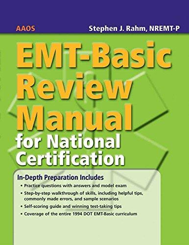 9780763744663: EMT-Basic Review Manual for National Certification