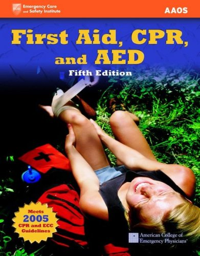 9780763746643: First Aid, CPR, and AED (First Aid and CPR: Web Enhanced Edition)