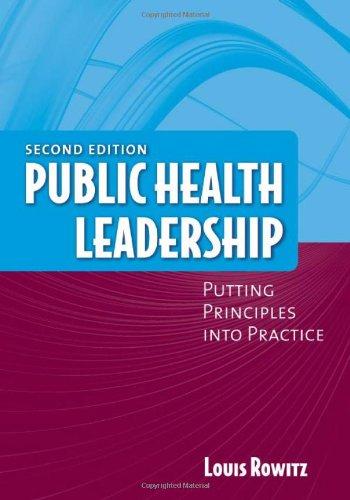 9780763750503: Public Health Leadership
