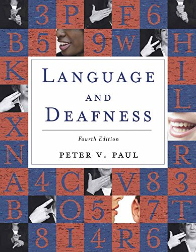 9780763751043: Language and Deafness