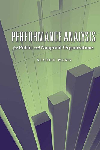 9780763751067: Performance Analysis for Public and Nonprofit Organizations