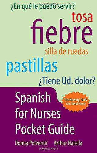 9780763751128: Spanish Pocket Guide for Nurses