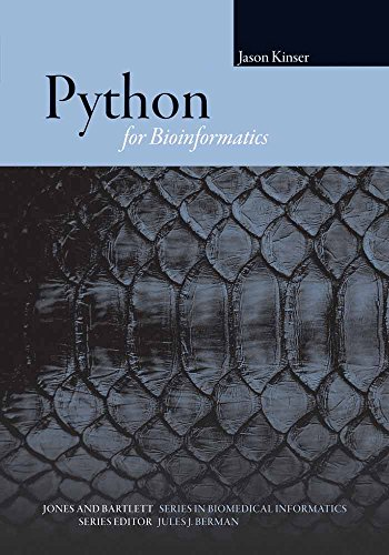 9780763751869: Python For Bioinformatics (Series in Biomedical Informatics)