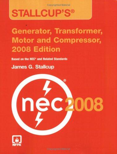 9780763752552: Stallcup's® Generator, Transformer, Motor And Compressor, 2008 Edition
