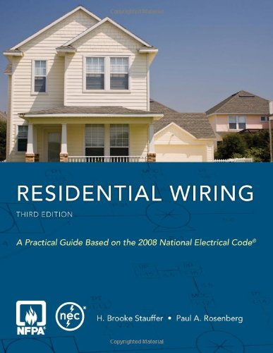 Residential Wiring (0763752606) by H. Brooke Stauffer; Paul A. Rosenberg
