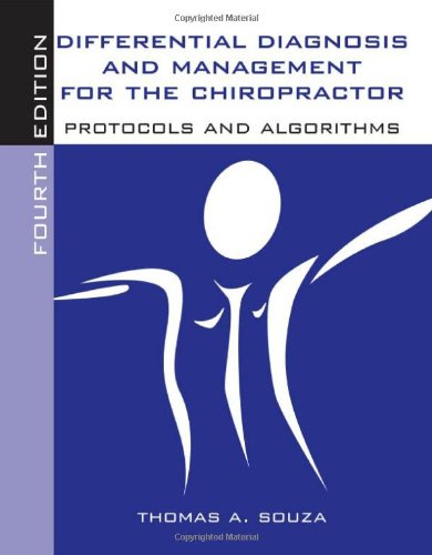 9780763752828: Differential Diagnosis And Management For The Chiropractor: Protocols And Algorithms