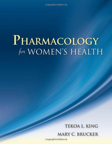 9780763753290: Pharmacology For Women's Health