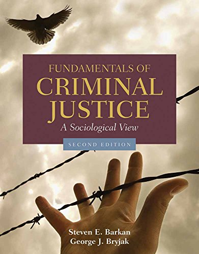 9780763754242: Fundamentals of Criminal Justice: A Sociological View: A Sociological View