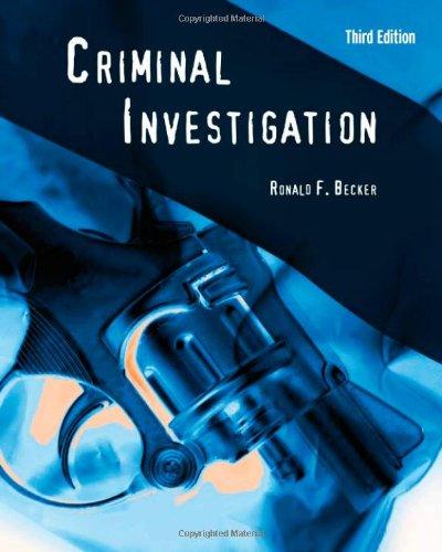 9780763755225: Criminal Investigation