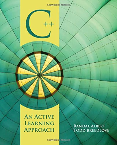 9780763757236: C++: An Active Learning Approach