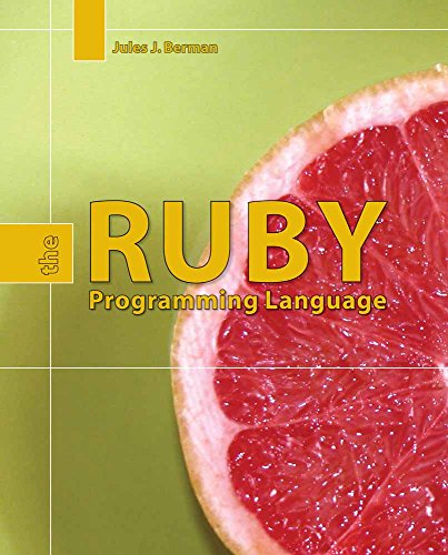 9780763757571: Ruby: The Programming Language